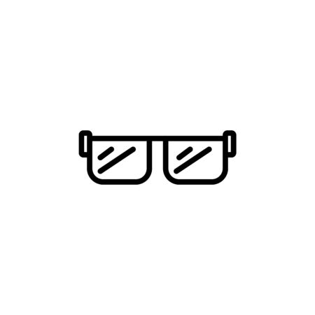 view icon design line style. Perfect for application, web, logo and presentation template Illustration