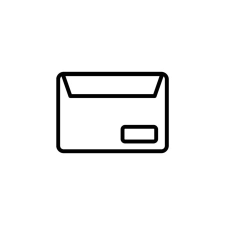 envelope icon design line style. Perfect for application, web, logo and presentation template