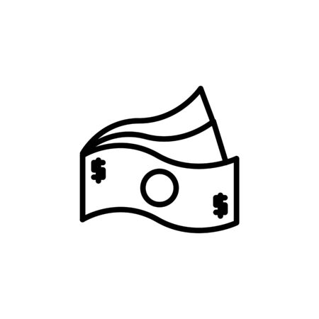 payment icon design line style. Perfect for application, web, logo and presentation template Illustration