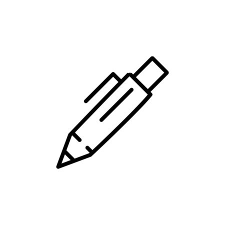 pen tool icon design line style. Perfect for application, web, logo and presentation template Illustration