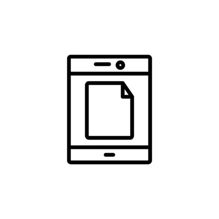 tap mode icon design line style. Perfect for application, web, logo and presentation template