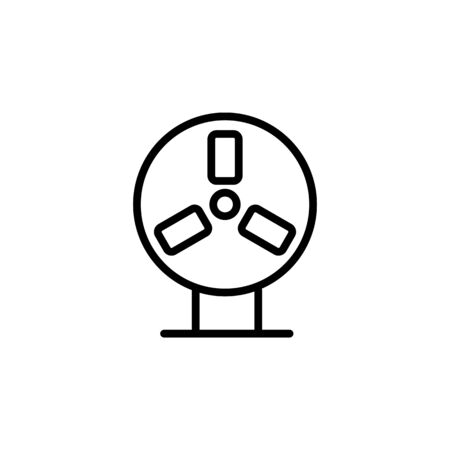 cooling pad icon. Perfect for application, web, logo and presentation template. icon design line style Ilustracja