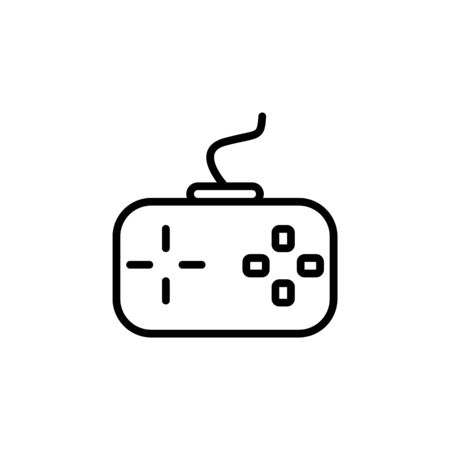 game icon. Perfect for application, web, logo and presentation template. icon design line style