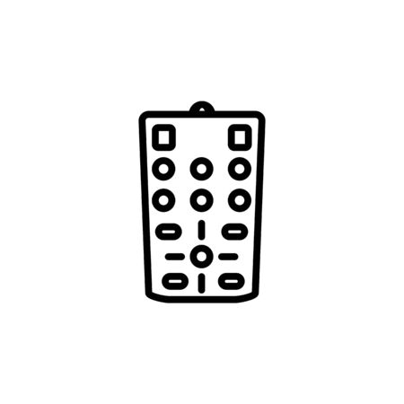 remote mode icon. Perfect for application, web, logo and presentation template. icon design line style Ilustracja