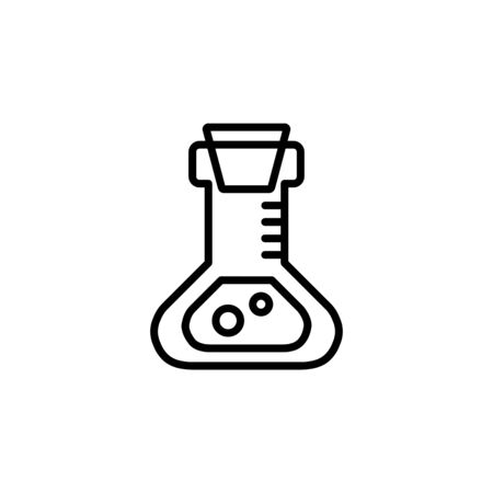 education icon, science icon. Perfect for application, web, logo and presentation template. icon design line style