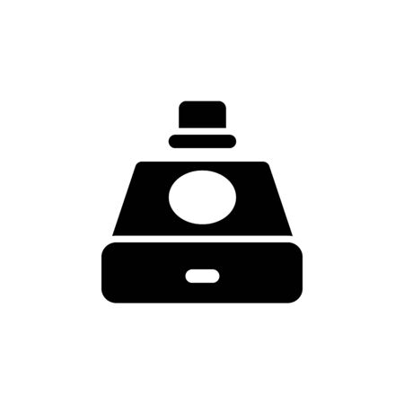 disc drive icon. Perfect for application, web, logo and presentation template. icon design solid style Çizim