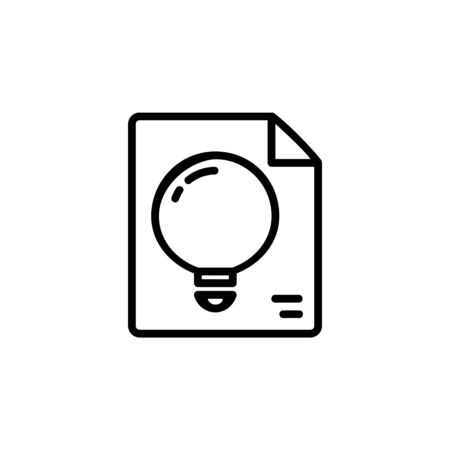 innovation icon. Online Learning icon. Perfect for application, web, logo and presentation template. icon design line style