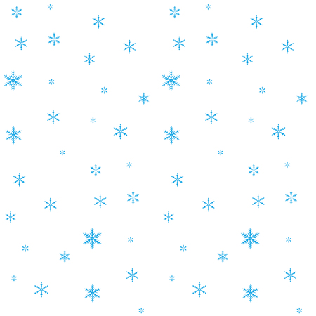 fishnet: Seamless winter of blue fishnet star on a white background. Abstract background. Illustration