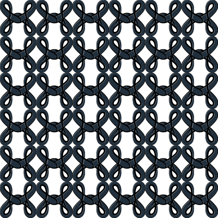 fill in: Vector seamless pattern in the form of an openwork lattice. Elegant vector lattice on a white background. Luxury texture for wallpapers, backgrounds and page fill. Illustration