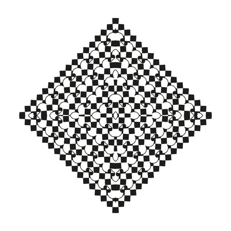 decorative items: Decorative items to decorate your work. Vector design elements. Vector graphic elements for design. Geometric fashion pattern.
