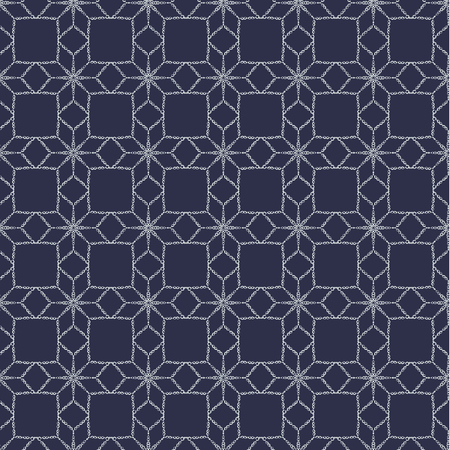 wintery: Endless design. Wallpaper in the form of a blue bars on a white background. Illustration