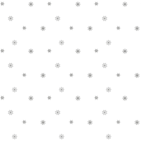 fishnet: Seamless winter of fishnet star on a white background. Abstract background. Seamless pattern of falling snowflakes. Illustration