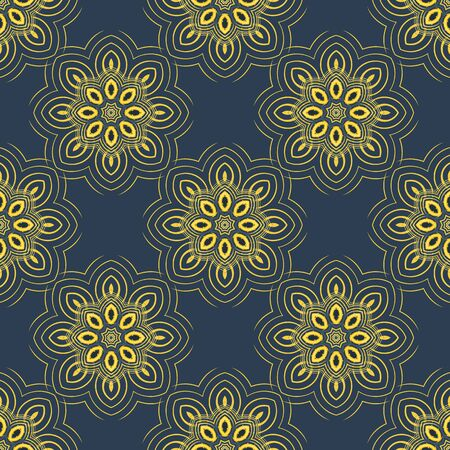 gently: Seamless pattern background. Elegant luxury texture for wallpapers, backgrounds and page fill. Floral ornament. Seamless pattern.