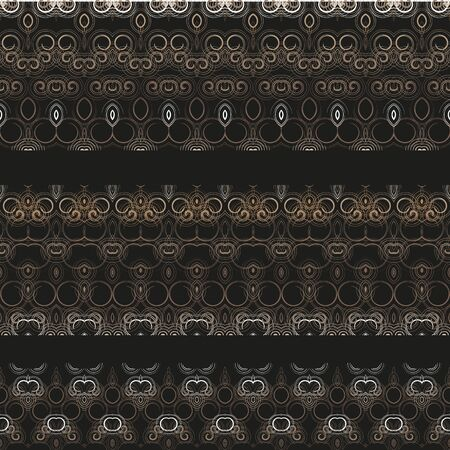 strapping: Lacy borders, ornamental patterns. An openwork pattern for decoration of your works from a set of small spirals.