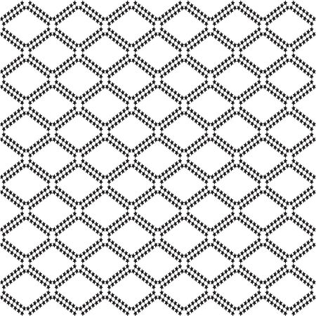 rhombic: Mathematical monochrome vector pattern of rhombuses. Vector monochrome geometric ornaments for wallpaper, pattern fills, web page background,surface textures. Black and White Rhombus Shape.
