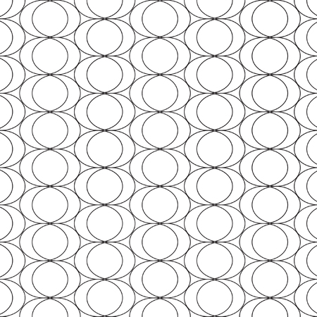 periphery: Mathematical monochrome black and white vector pattern. Vector monochrome geometric ornaments for wallpaper, pattern fills, web page background, surface textures.