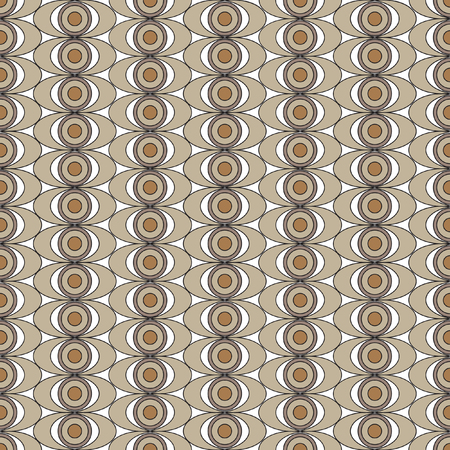 periphery: Mathematical monochrome vector pattern. Vector monochrome geometric ornaments for wallpaper, pattern fills, web page background, surface textures. Sepia texture.