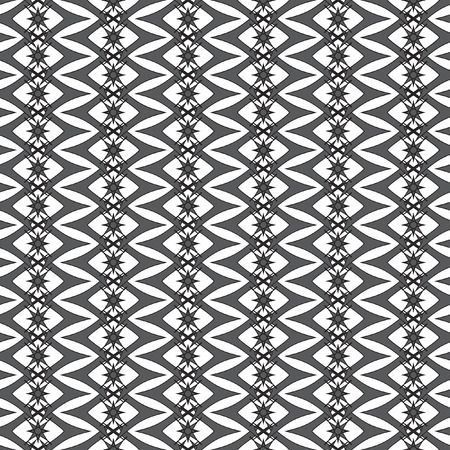 rhombic: Mathematical monochrome vector pattern. Vector monochrome geometric ornaments for wallpaper, pattern fills, web page background, surface textures.