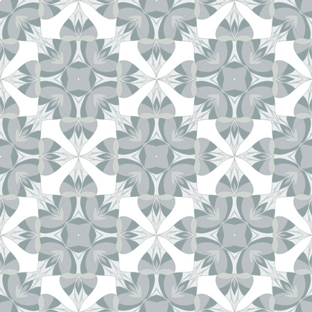leaden: A complex vector seamless floral pattern.