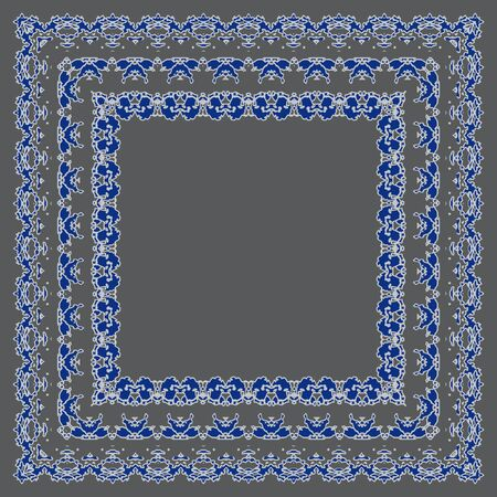 openwork: Ornate frame vector. Openwork stylish gentle vector frame for decoration of your works. Illustration