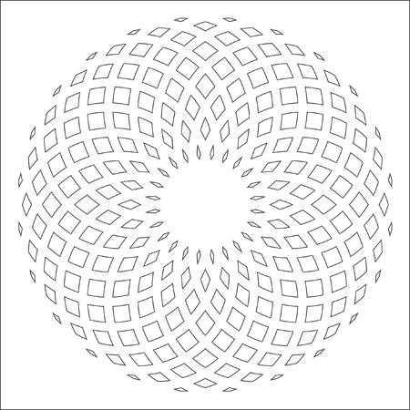 Disegno astratto gradiente vettore. Qualcosa di morbido e volume. Vector modello circolare. Archivio Fotografico - 53251360