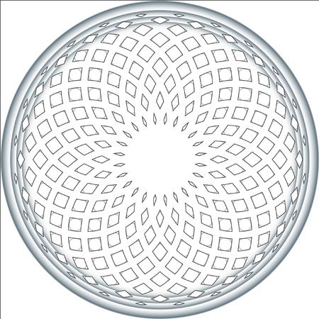 Disegno astratto gradiente vettore. Qualcosa di morbido e volume. Vector modello circolare. Archivio Fotografico - 53251361