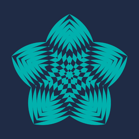 sensory perception: Decorative items to decorate your work. Vector design elements. Vector graphic elements for design. Geometric fashion pattern. Vector star, snowflake, round pattern.