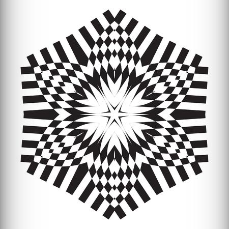 nodules: Mandala, circular pattern. A round pattern pattern for your designs. Vector round pattern.