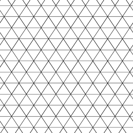 Seamless pattern of equilateral triangles, seamless pattern background triangle. Triangles pattern. Vector