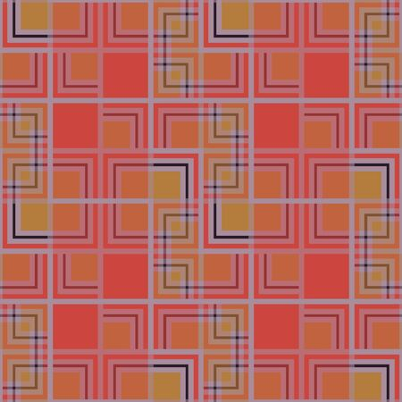 mondrian: Abstract seamless pattern of colored squares. Abstract geometrical seamless pattern