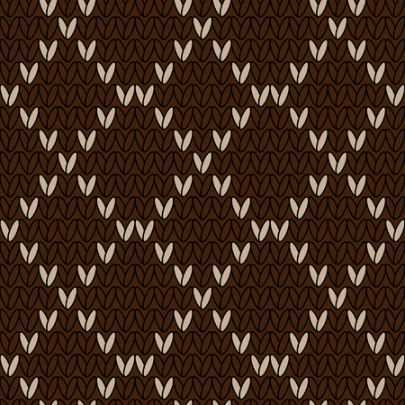 stockinet: Knitwear vector seamless pattern. Stockinet closing. Vector seamless pattern in the style of knit fabric. Stockinet. Decorative seamless vector knitted background.