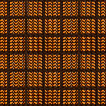 stockinet: Vector seamless pattern in the style of knit fabric. Stockinet. Decorative seamless vector knitted background. Knitwear vector seamless pattern. Stockinet closing. Illustration