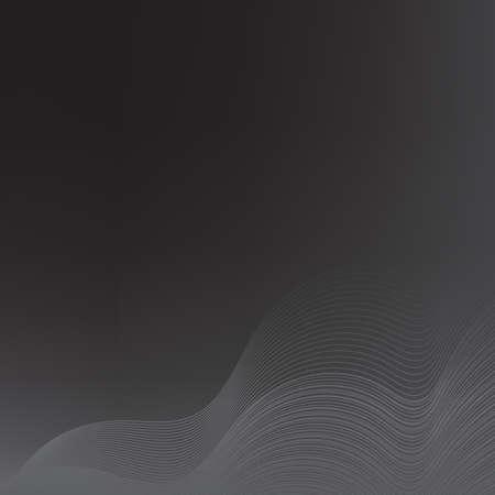 monochrome: Dark monochrome background. Vector