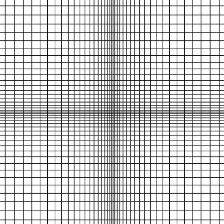 orthogonal: Abstract vector black and white monochrome pattern of intersecting vertical and horizontal lines.