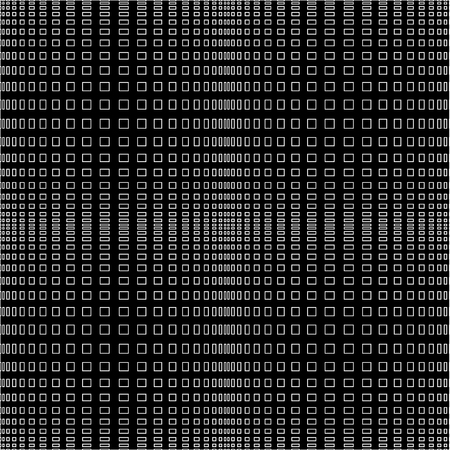 horizontal lines: Abstract vector black and white monochrome pattern of intersecting vertical and horizontal lines.