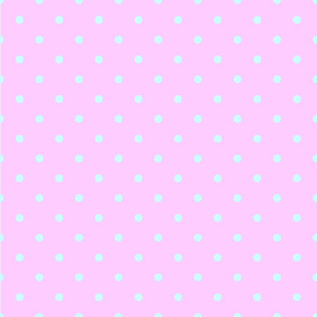 ordered: Abstract vector seamless polka dot background. Seamless pattern of circles ordered. Pink background - blue pots. Drawing for childrens clothing, underwear, toys, paper craft