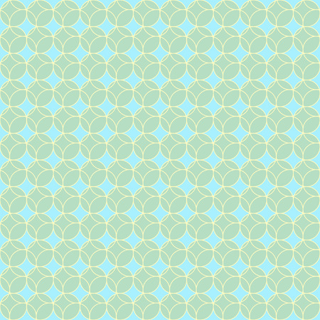 ordered: Abstract vector seamless polka dot background. Seamless pattern of circles ordered Illustration