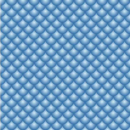 Abstract vector seamless polka dot background. Seamless pattern of blue circles ordered