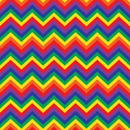 crankle: Seamless zigzag pattern of parallel lines. Geometric wave. Seamless background with horizontal color stripes in zigzag