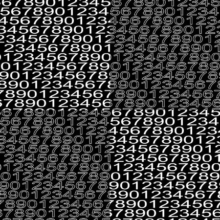 numbers background: Numbers background. Mathematical seamless pattern. Vector.