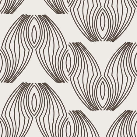 Modern stylish texture. Repeating abstract background with tangled line Illustration
