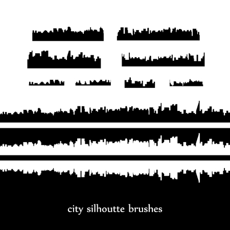 Skylines. Vector city illustration Illustration