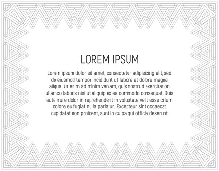 Certificate Template With Guilloche Pattern And Background