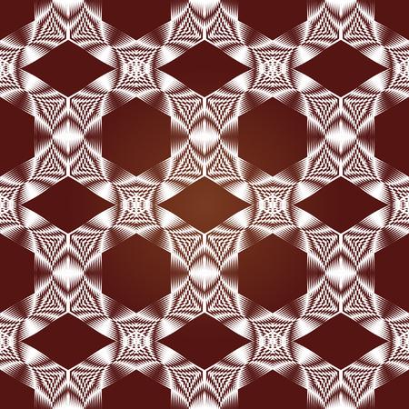 複雑なパターン。シームレスなベクトル飾り。幾何学的なリズム パターン