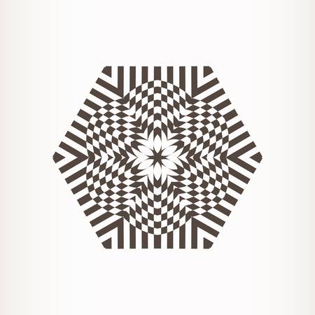 Mandala, circular pattern. Vector round pattern. Geometric circular ornament