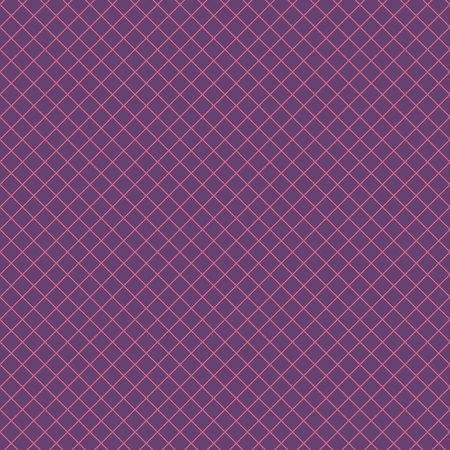 Diagonal checkered pattern of fine lines.Vector illustration. Abstract geometric monochrome texture with thin diagonal transverse lines, rhombuses, a grid, a lattice. Simple thin checkered background. Modern seamless design of repetition