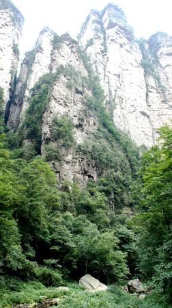 Grand Canyon, Zhangjiajie, landscape, freedom, nature forest mountains China vertical hight