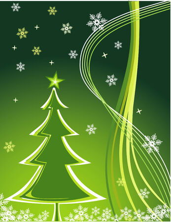 vector Christmas Tree Vector