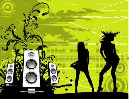 vector party illustration Illustration