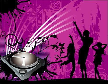 vector party illustration Illustration